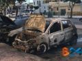 Incendio auto via Di Vittorio 1