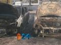 Incendio auto via Di Vittorio 2