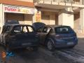 Incendio auto via Di Vittorio
