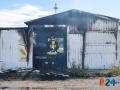 Incendio chiosco Arena del mare-2