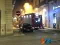 Incendio furgone via de gasperi4