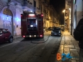 Incendio furgone via de gasperi5