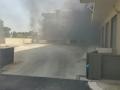 Incendio Garage via Fracanzano-7