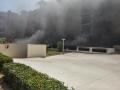 Incendio Garage via Fracanzano