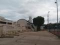 tetto divelto dellolio scuola
