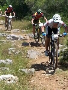 Ciclisti Cavallaro in gara