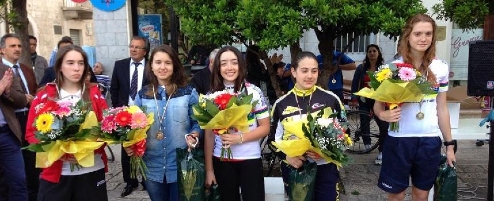 Ciclismo: domenica da incorniciare per la Cavallaro