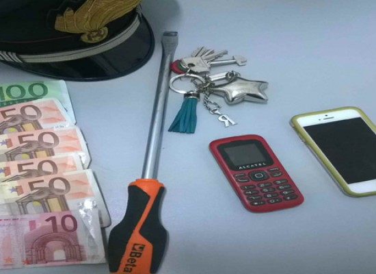 Sorpreso mentre rubava in appartamento si è lanciato dal balcone: arrestato 22enne barese, ladro recidivo