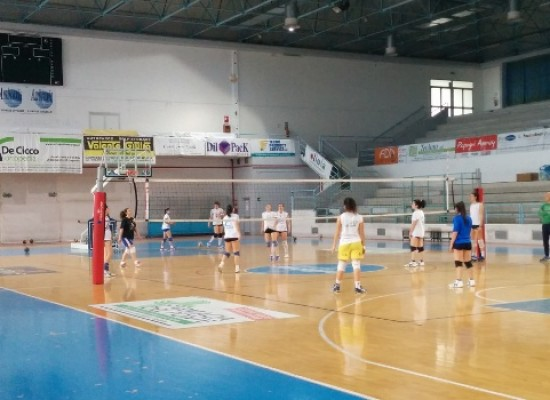 Sportilia Volley, coach Nuzzi presenta la sfida play-out con Oria