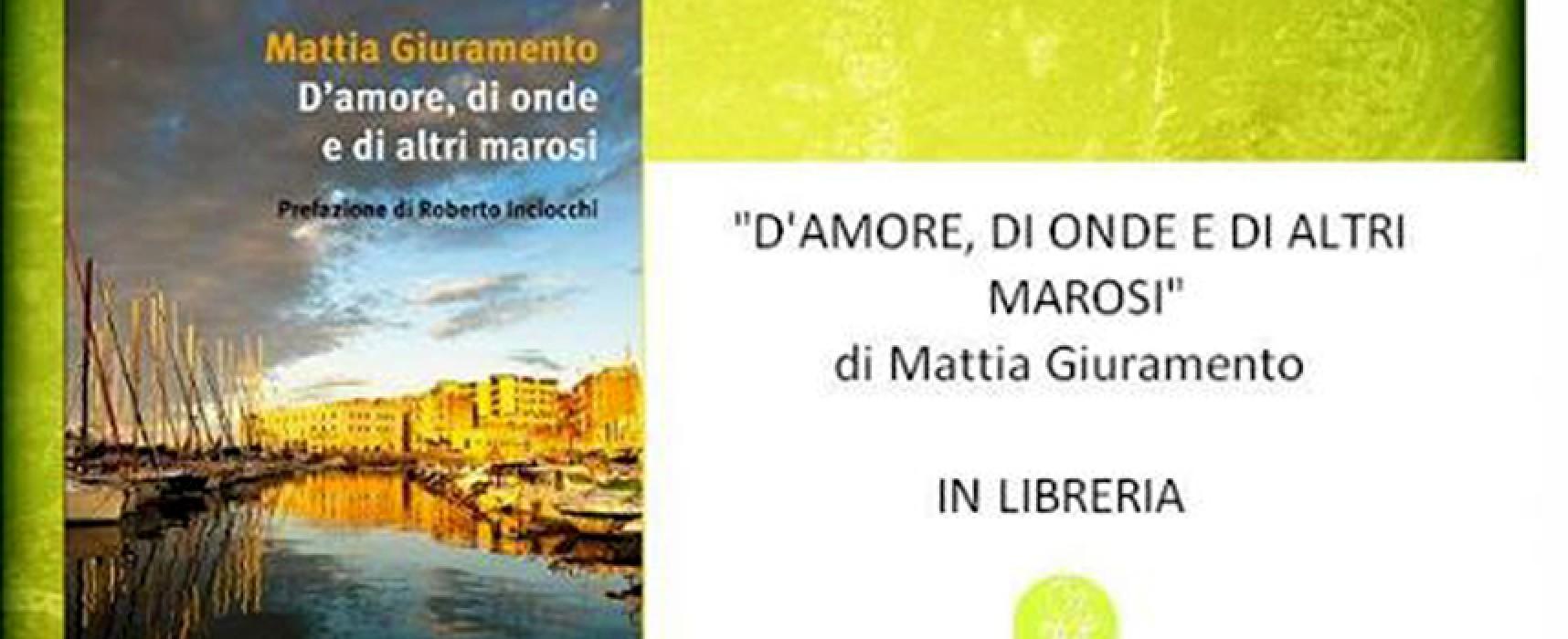 Mattia Giuramento, giornalista biscegliese di Sky Tg 24, questa sera presenta il suo libro al Circolo Unione