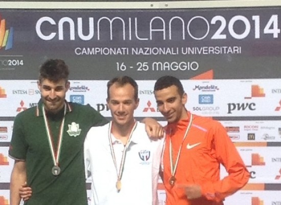 Campionati Nazionali Universitari, Ridger trionfa nei 3000 siepi