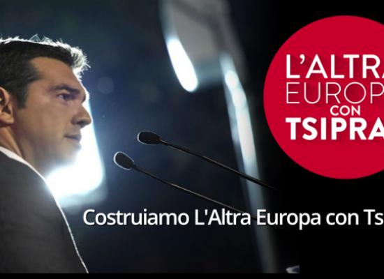 """""""L'altra Europa con Tsipras"""" presenta """"Aperitivo con il Paesologo"""""""