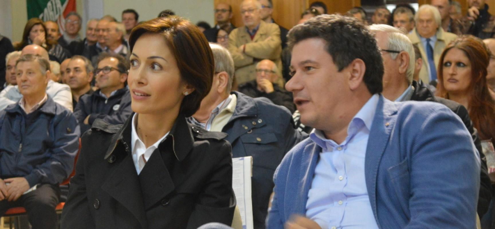 Europee, l'on. Mara Carfagna presenta la candidatura di Sergio Silvestris