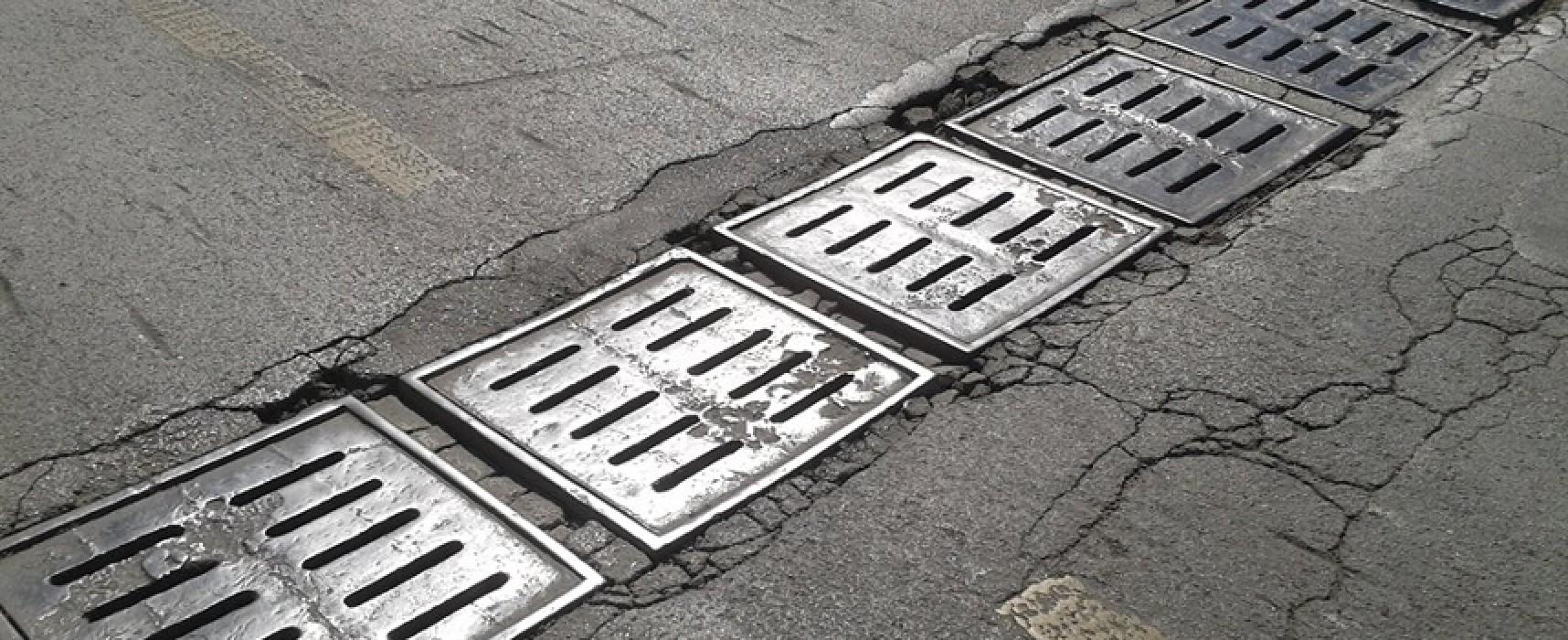Viabilità: nonostante i recenti lavori, persistono pericolosi affossamenti in via Fondo Noce
