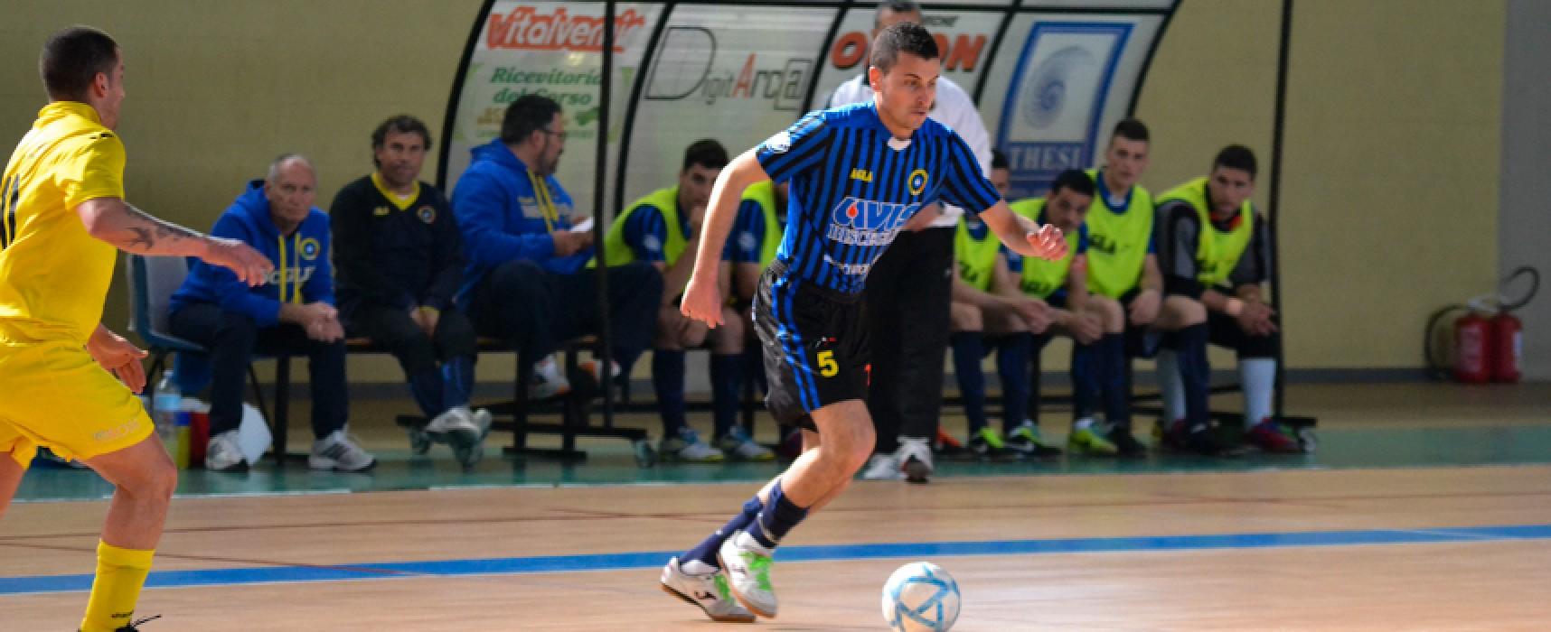 Nico Pedone al Futsal Bisceglie sino al 2016