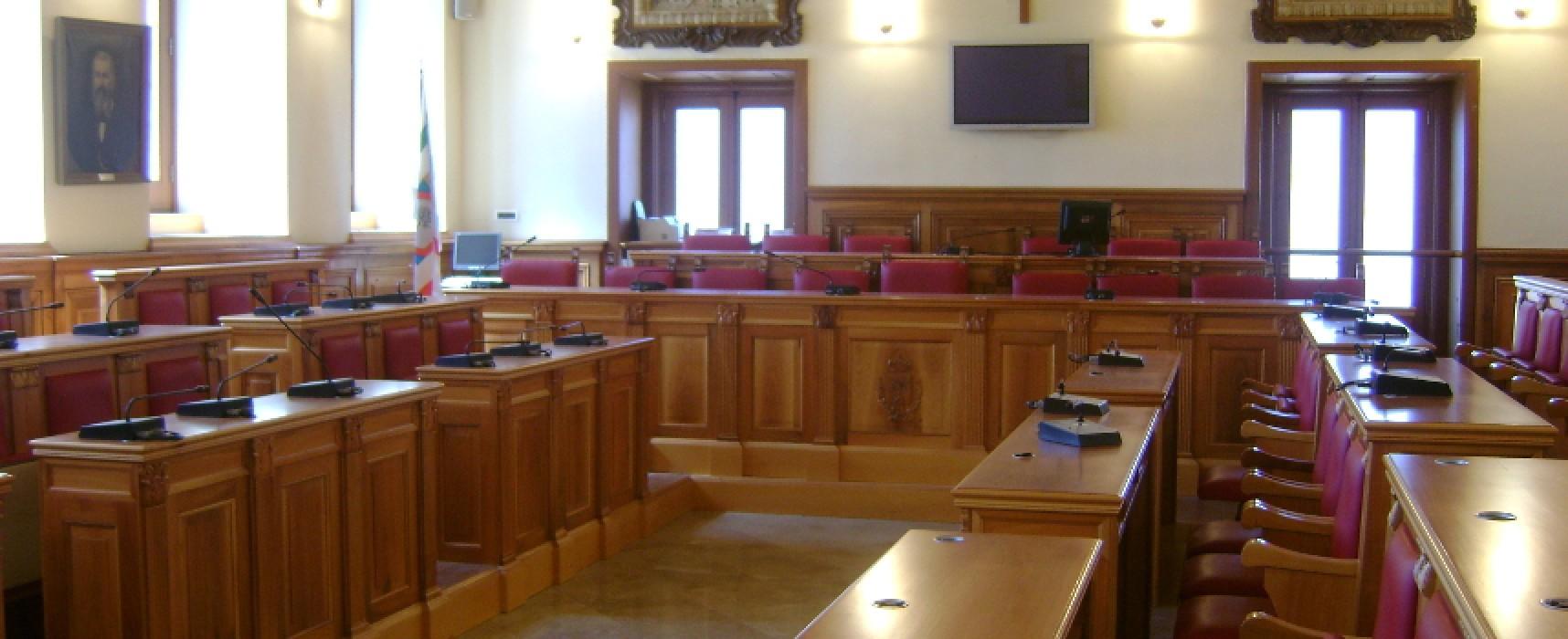 Torna agibile la sala consiliare di Palazzo san Domenico
