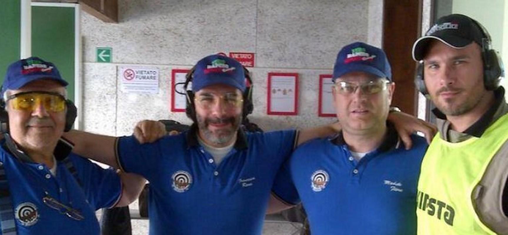 Incetta di podi per il TSN Bisceglie al campionato Italiano di tiro rapido sportivo