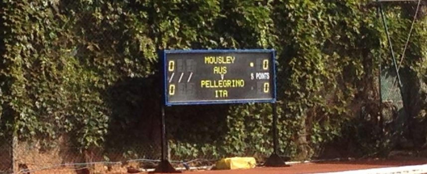 Trofeo Bonfiglio, Pellegrino-Mousley 7-6; 2-6; 6-7