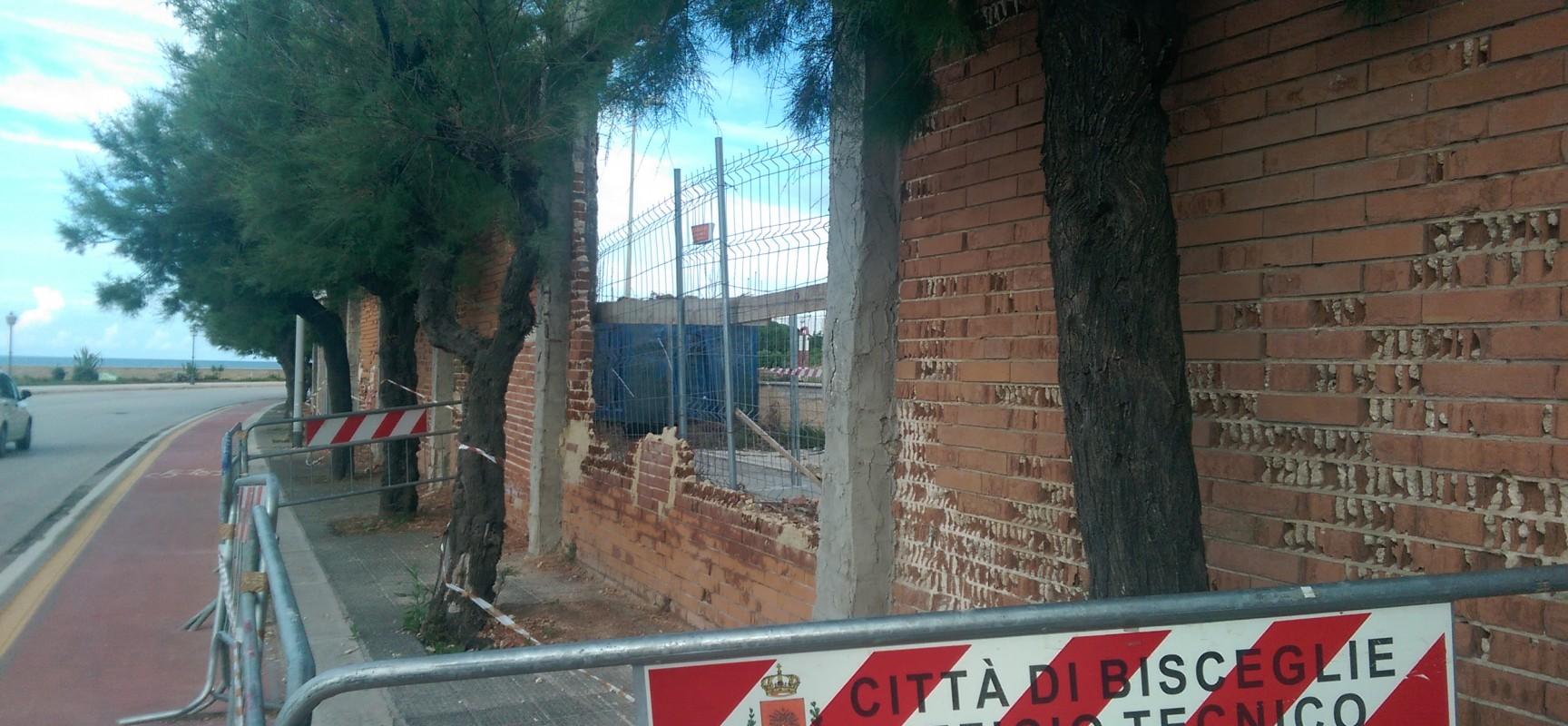 Recinzione Casa della Divina Provvidenza, ultimatum del Comune: 90 giorni per ripristinare la muratura