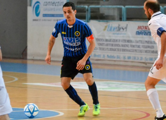 Capitan Caggianelli terza conferma in casa Futsal Bisceglie