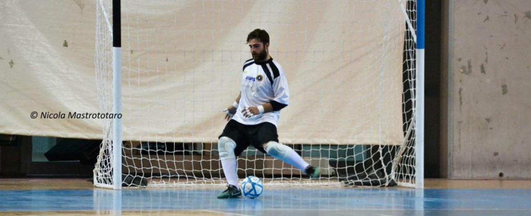 Il Futsal Bisceglie conferma tra i pali Dibenedetto
