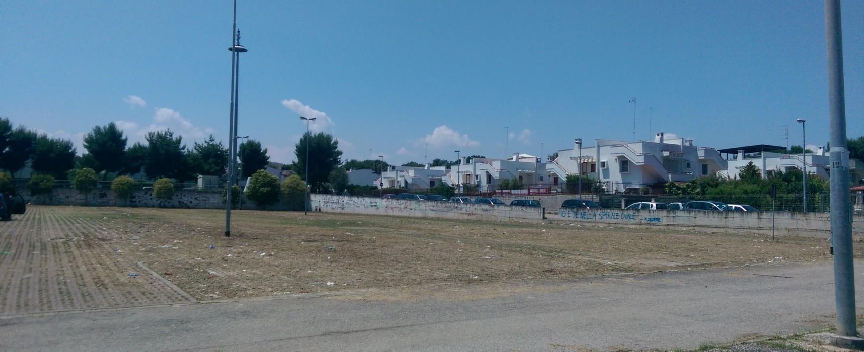 Parcheggi Arena del Mare e Conca dei Monaci, via le erbacce ma non i rifiuti