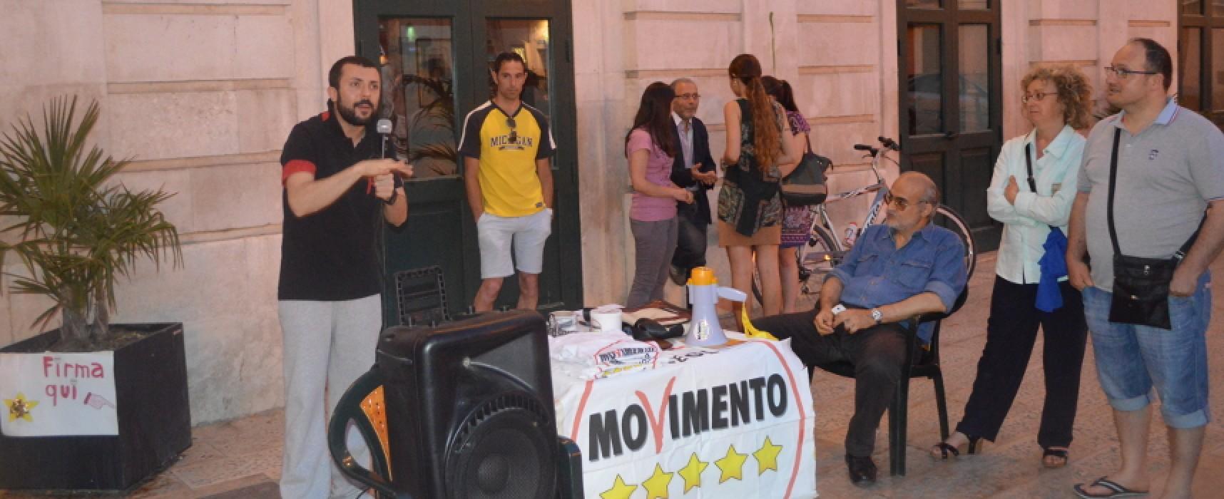 D'Ambrosio (M5s): «Anomalia biscegliese: da Monti al Nuovo Centro Destra» / VIDEO