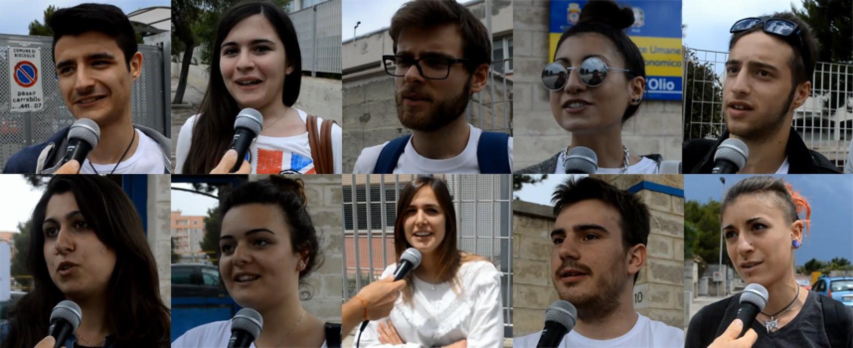 Prima Prova Maturità 2014, le tracce scelte dagli studenti biscegliesi / VIDEO