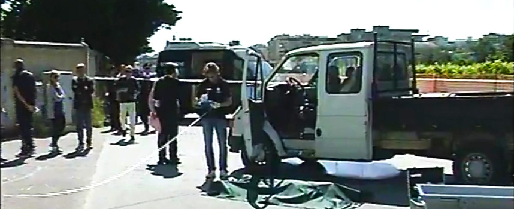 Domenico Di Pinto, 53enne biscegliese, ammazzato questa mattina da due sicari mentre era al lavoro a Gioia Del Colle