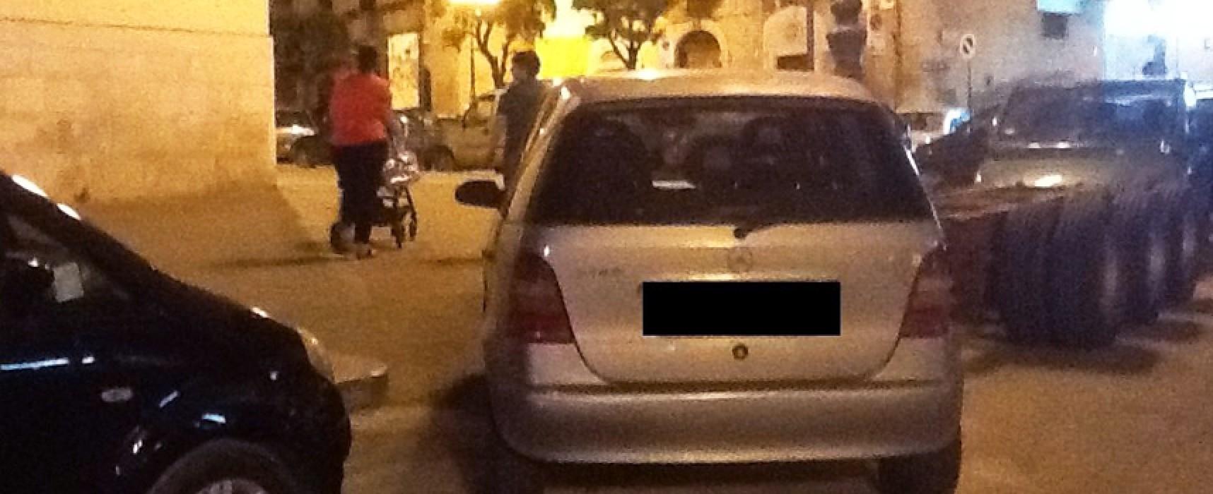 Parcheggio selvaggio in zona San Lorenzo, la segnalazione di un lettore