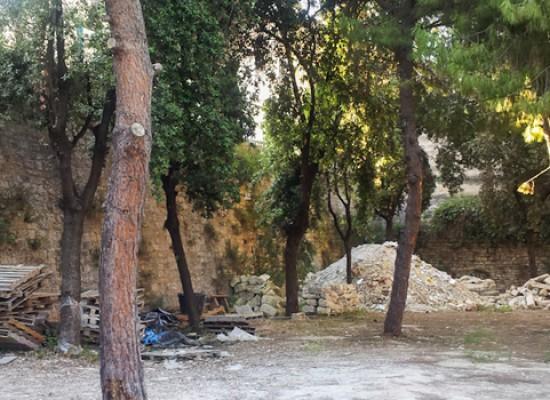 Parco delle beatitudini in stato di abbandono, l'appello di Mauro Simone al sindaco / FOTO