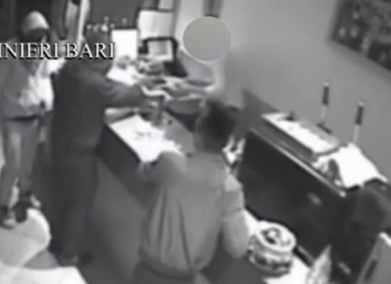 Assaltarono e rapinarono Bar Sant'Andrea: sgominata banda di 4 giovanissimi biscegliesi / VIDEO
