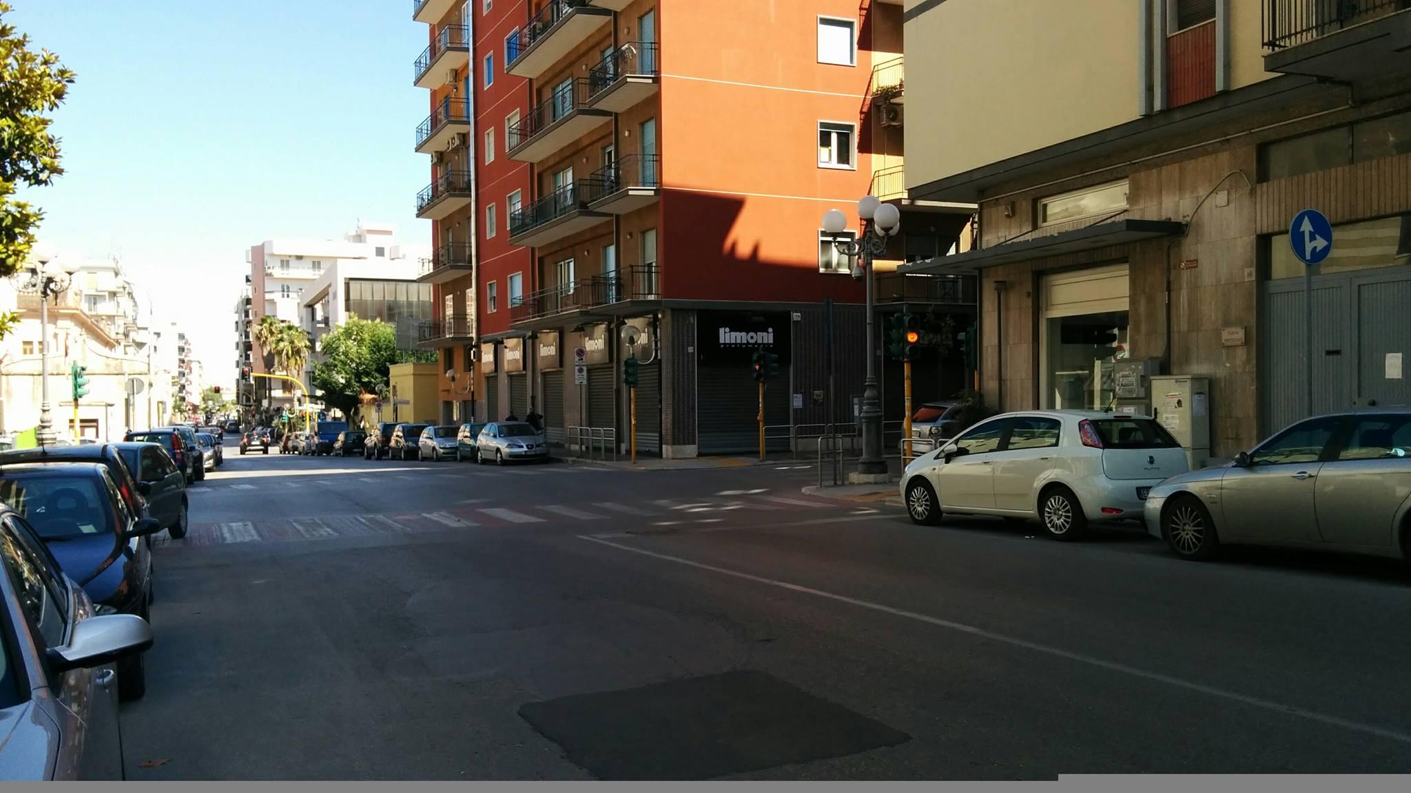 Semaforo visto da via Petronelli