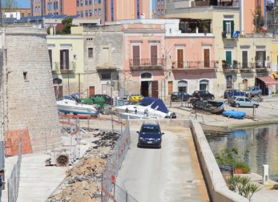 Waterfront, nuove disposizioni per il traffico veicolare su Via La Marina e Via Nazario Sauro