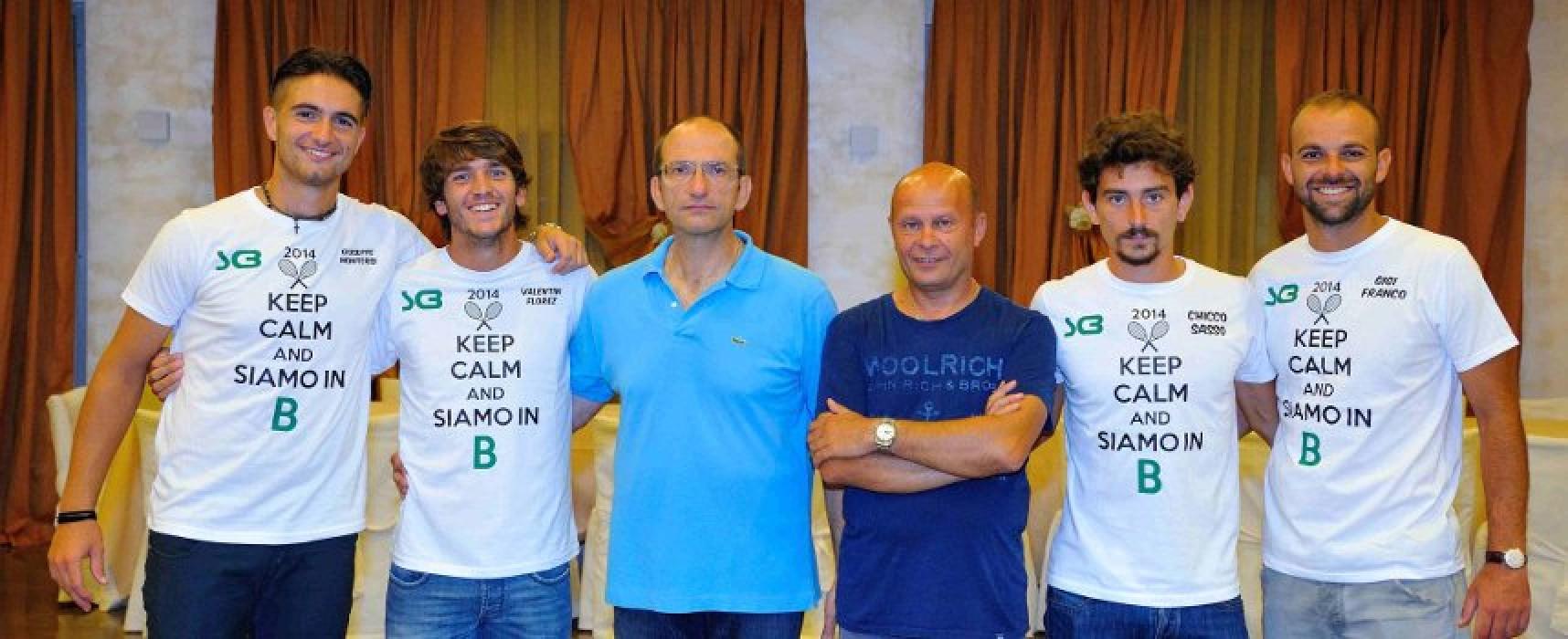 Tennis, lo Sporting Club festeggia la promozione in serie B / VIDEO