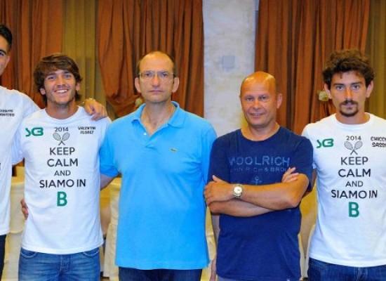 Sporting Club, domenica l'esordio nel campionato di serie B di tennis
