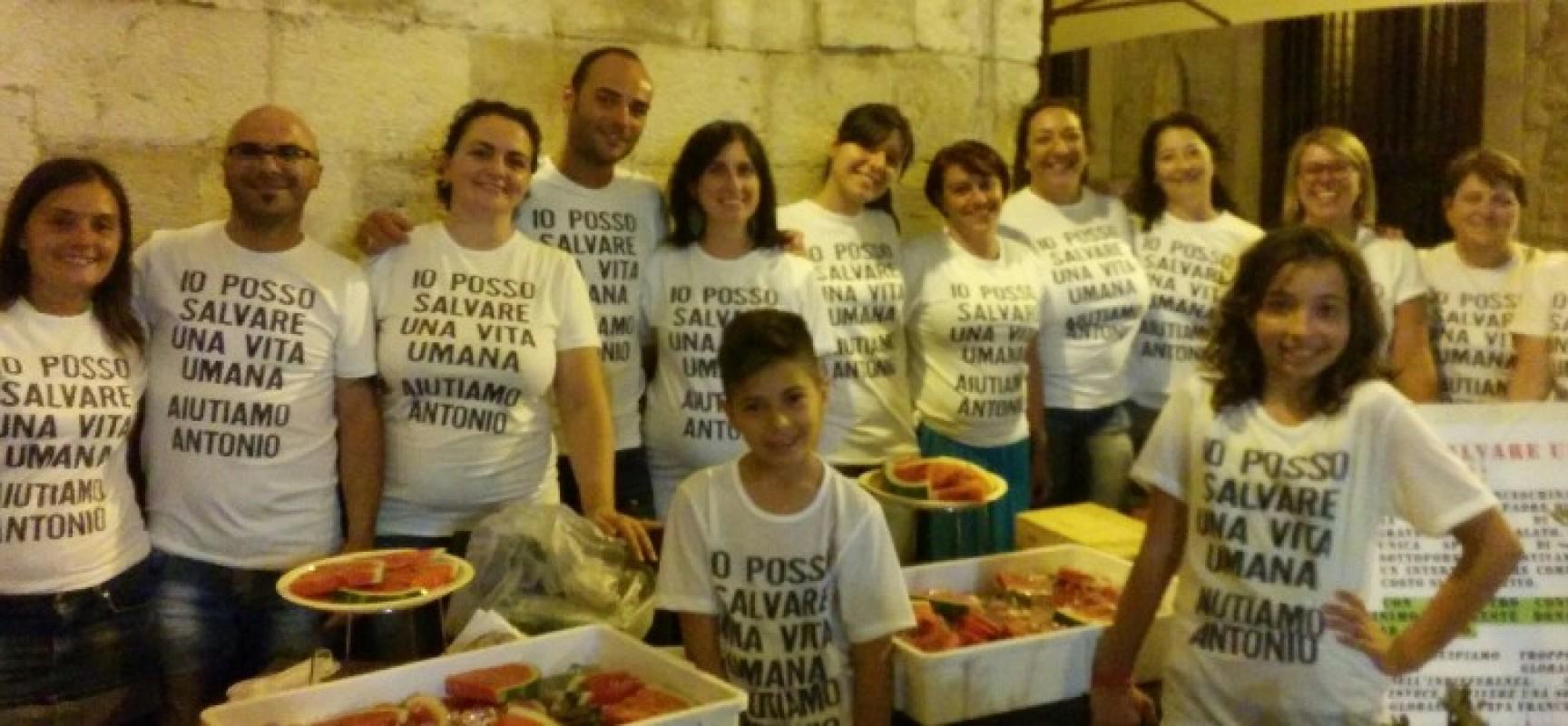 Solidarietà per Antonio, la somma ha raggiunto quota 22.000 euro