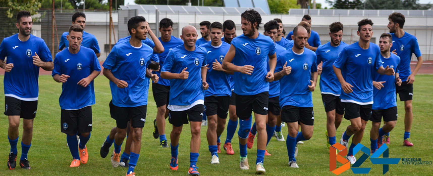 Il Bisceglie calcio domani parte per il ritiro di Gubbio; c'è anche il francese Pongo