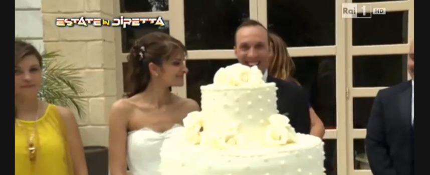 Matrimonio In Diretta : Il matrimonio dei biscegliesi sergio e mariagrazia su rai