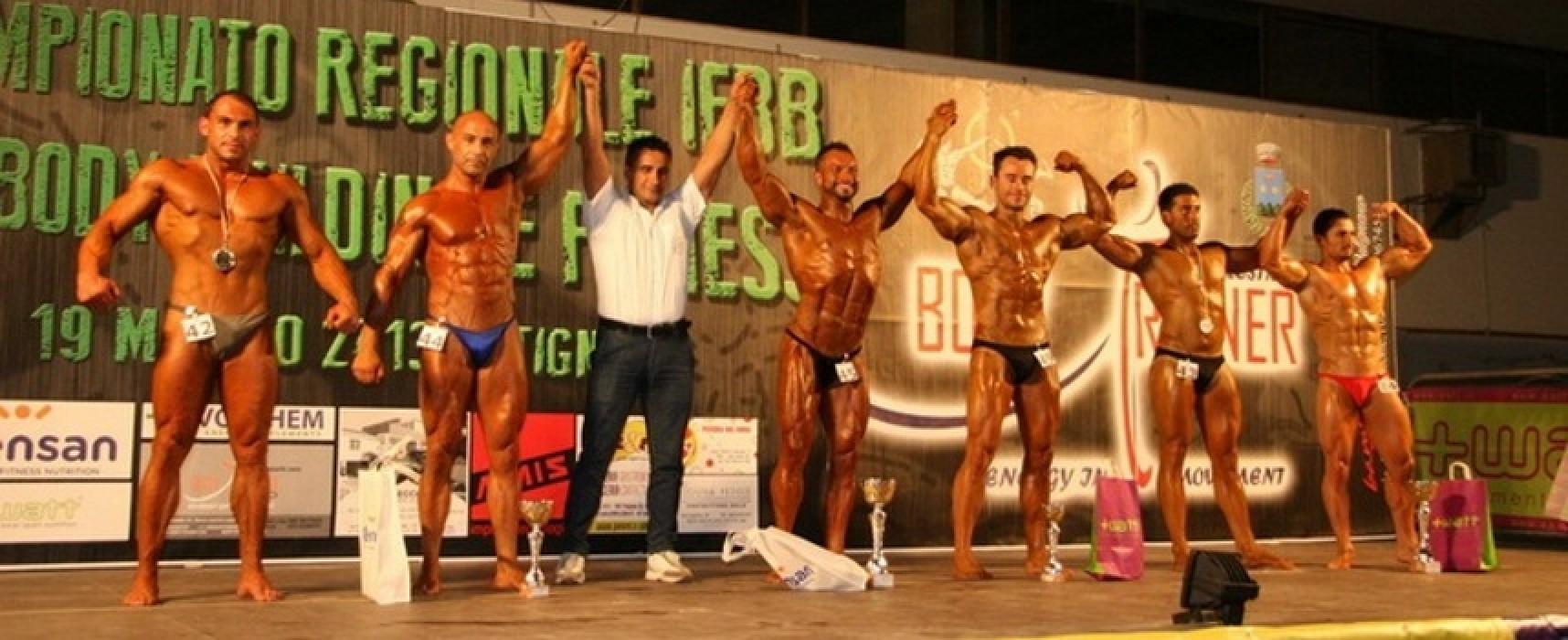 Il biscegliese Francesco Di Leo conquista il titolo di Mr. Universe I.B.F.A.