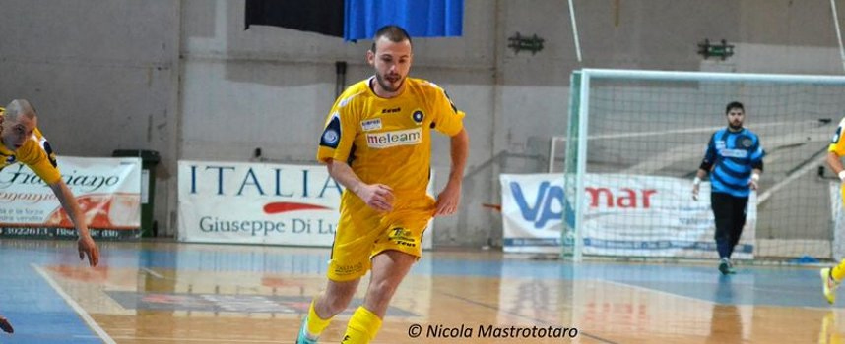 Futsal Bisceglie, confermato il prestito di Giuseppe Russo al San Rocco Ruvo