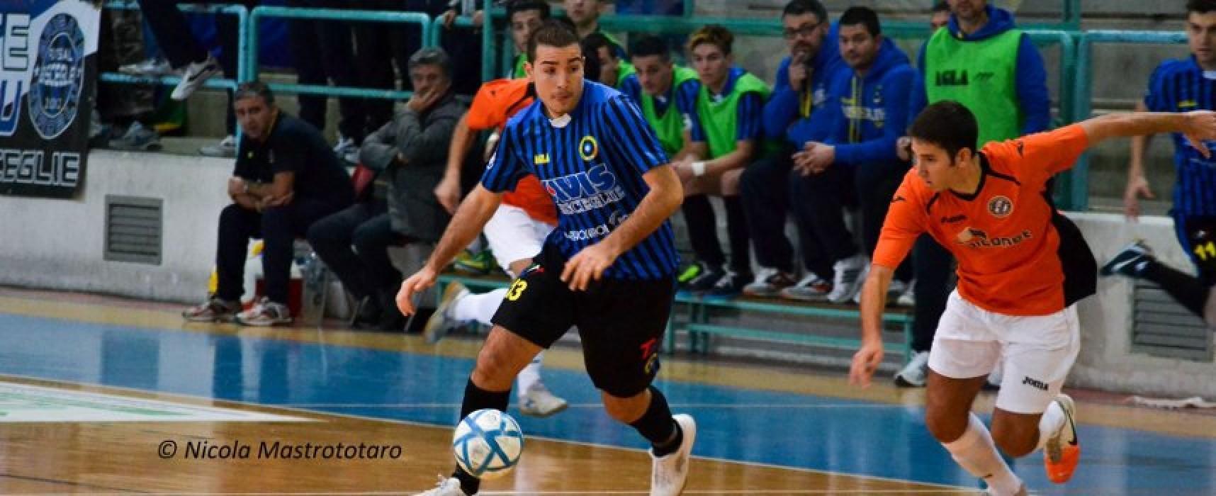 Futsal Bisceglie; Cassanelli rinnova sino al 2016, Rueda in prestito al Futsal Canosa