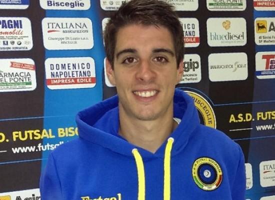 Il talento spagnolo Ortiz approda al Futsal Bisceglie