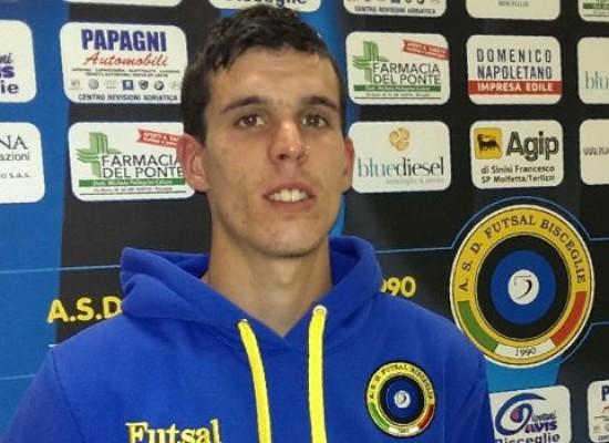 Futsal Bisceglie: terzo colpo dalla Spagna, preso il giovane bomber Keko
