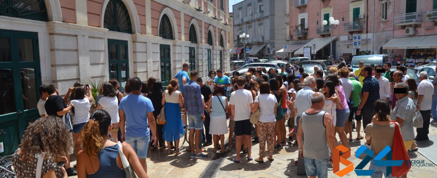"""Le riprese del film """"La scelta"""" si spostano su Corso Umberto e sul Torrione Sant'Angelo"""