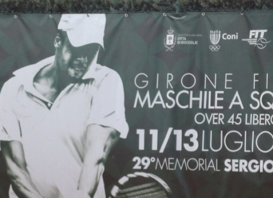 Memorial Cosmai: i risultati della prima giornata del campionato italiano over 45