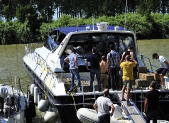 Biscegliese arrestato a Pisa, guidava una barca con a bordo 3 tonnellate di hashish / VIDEO