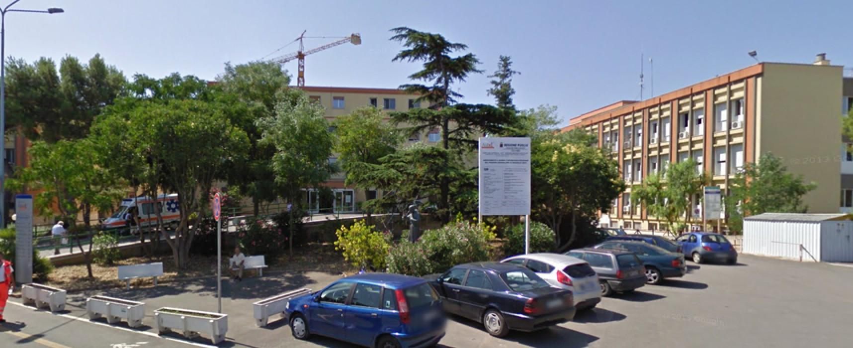 Morta per peritonite acuta la donna trasferita a Bisceglie dal pronto soccorso di Trani