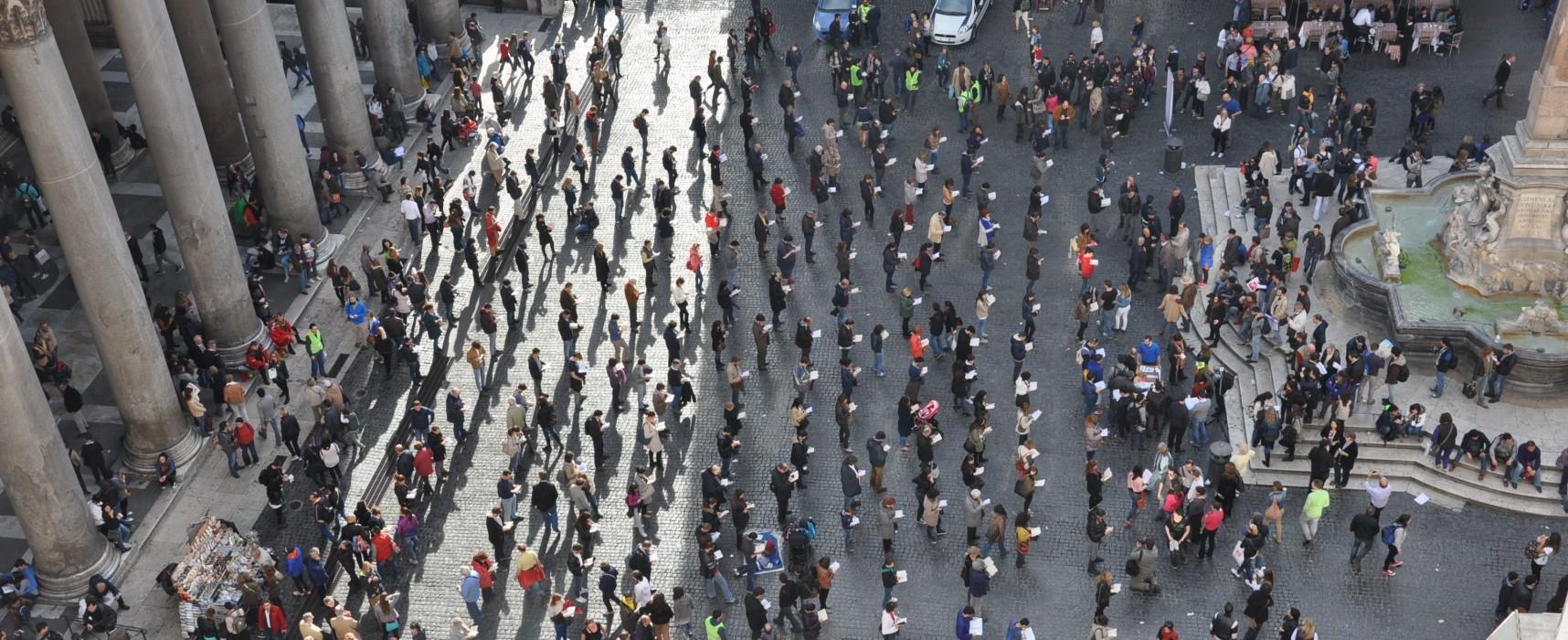 """""""Sentinelle in Piedi"""" risponde all'Arcigay: """"Siamo una rete di cittadini che si mobilita per la libertà di espressione"""""""