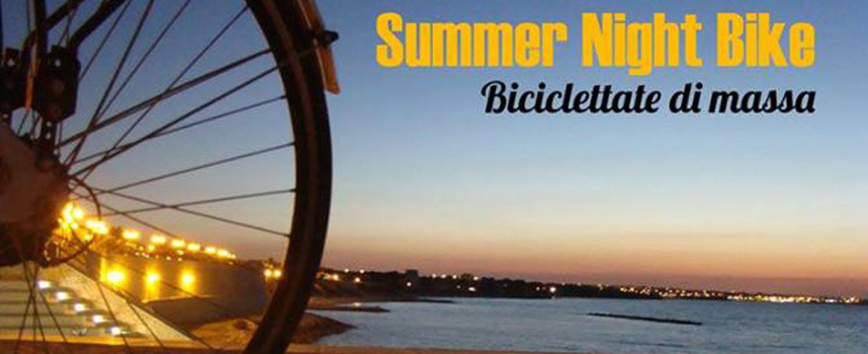 Summer Night Bike, ripartono le passeggiate serali di Biciliae